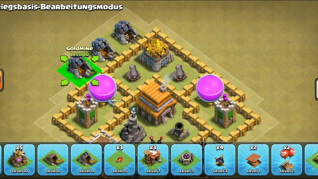 Mega gute th 5 base   Clash of clans