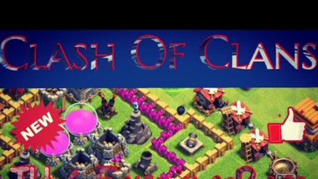 Clash Of Clans Best TH6 (Farming Base)