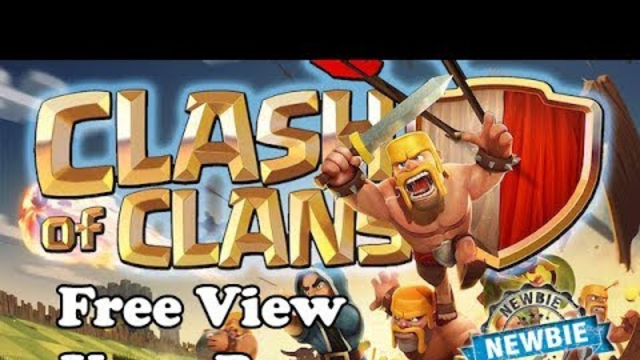 Clash of Clans - Newbie ^_^ (Free to visit your Base)