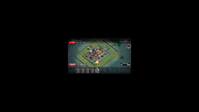 jugando clash... of clans :v