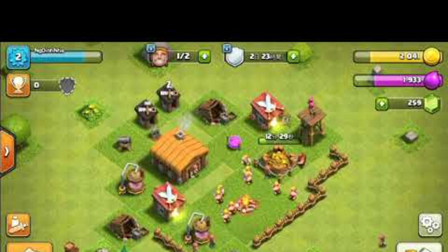 Clash of Clans #2 Town Hall 4 Farm - NgDinhNha