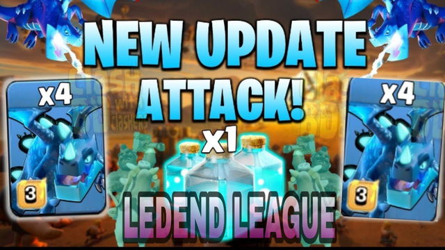 NEW ATTACK STRATEGY - 7 ELECTRO DRAGON 14 LOON WITH 1 CLONE 3 RAGE 4 FREEZE | CLASH OF CLANS |