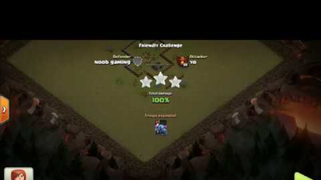 #6 Clash of Clans | One troop VS th3