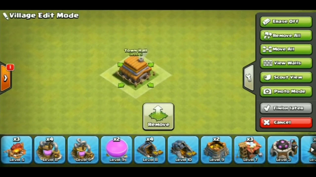 Undefeatable base town hall 5 || clash of clans || it's ronnie