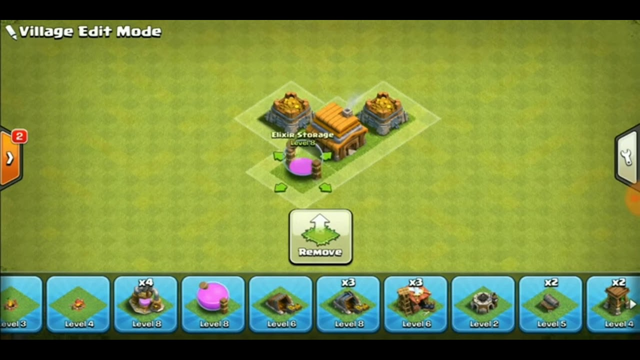 Undefeatable base town hall 4 || clash of clans