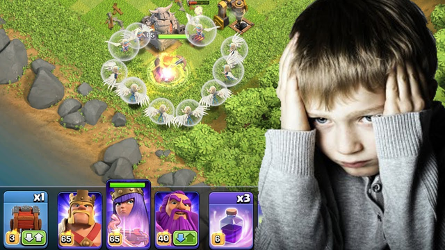 15 Healer Attack Goes Wrong   Clash of Clans Legend League Pushing