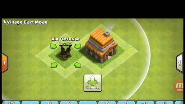 Clash Of Clans Amazing TH4 Base