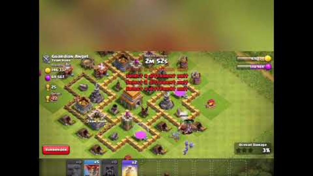 Clash of clans pjesa 3 town hall 6