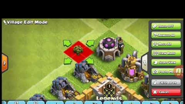 Clash Of Clans Amazing TH5 Base :)