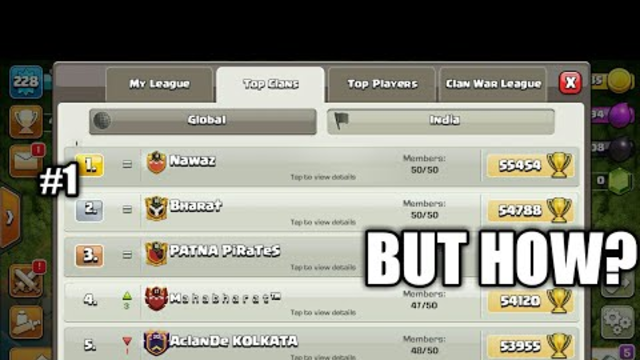 Reason Why nawaz Hit Global Top #1 | Clash of Clans Legend Pushing