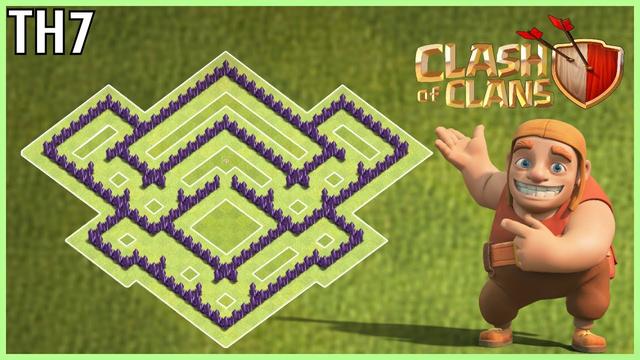 Town Hall 7   War   Hybrid   Anti 3 Star   Base    2019-Clash Of Clans