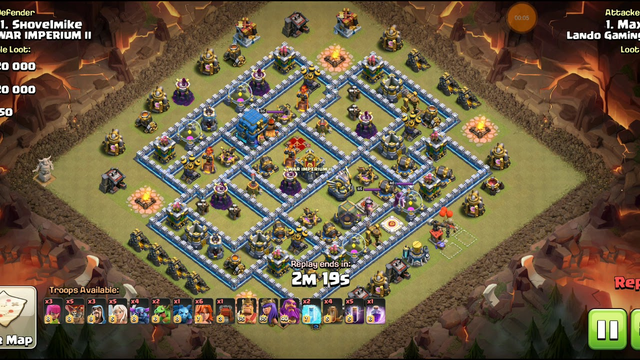 PekkaBoBat with 4 EQ 3 star on TH12 : Clash of clans