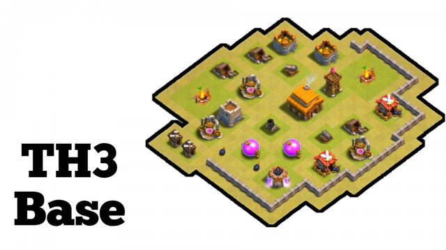TH3 Base Layout | Clash Of Clans