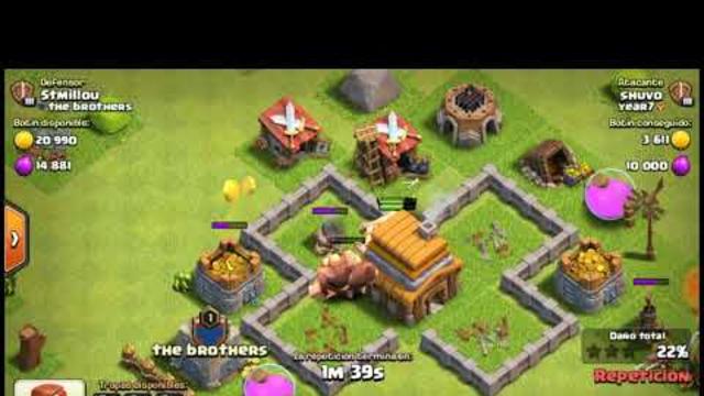 Ataques en th 3 y th 9 |clash of clans