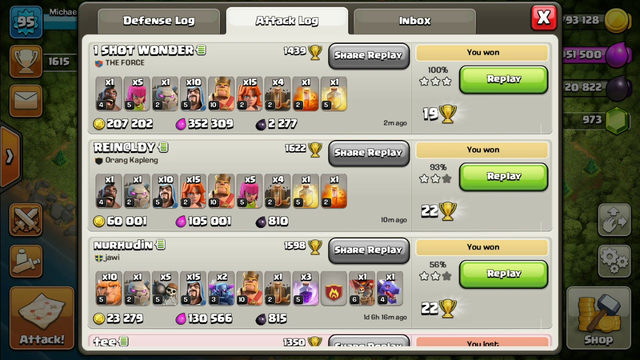 TOWN HALL 8 ATTACK | CLASH OF CLANS