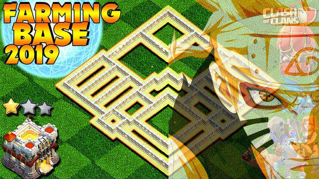 """""""NARUTO MUSTACHE"""" BEST! Farming Base Town Hall 11 (TH11) 2019 