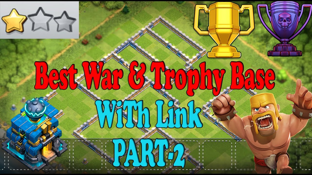 Best TH12 War & Trophy & Defense Base With Link (Part 2) | Anti 1 Star War Base | Clash Of Clans