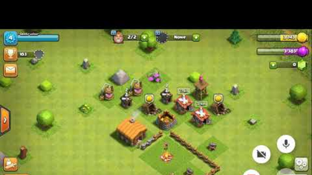 Starting Clash of Clans