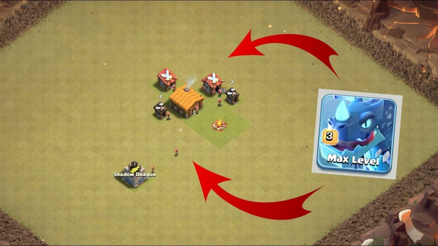 Electro dragon lvl 3 vs Town hall 2! | clash of clans