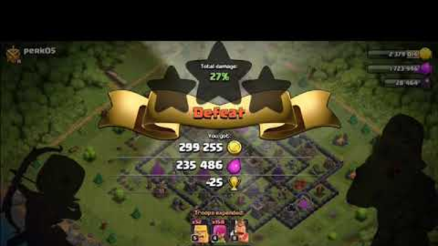 wall farming time ? 2nd acount clash of clans