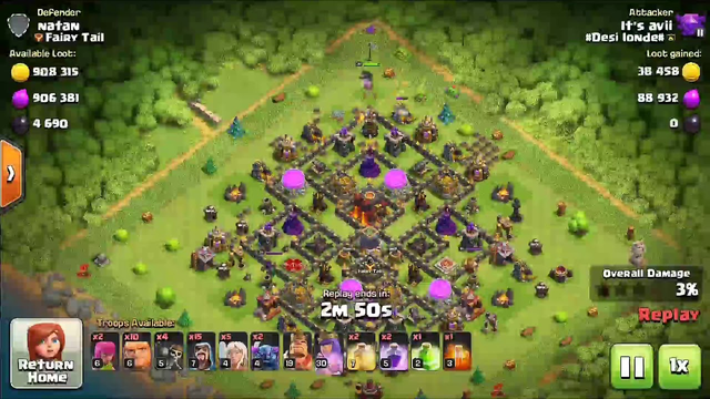 #coc #clashofclans #th10 #loot #huntersofcoc #Queen complete 100%
