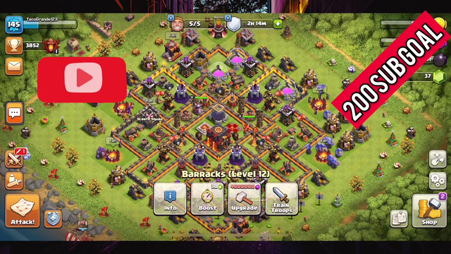 Clash of Clans TH10 War Attack Strategy