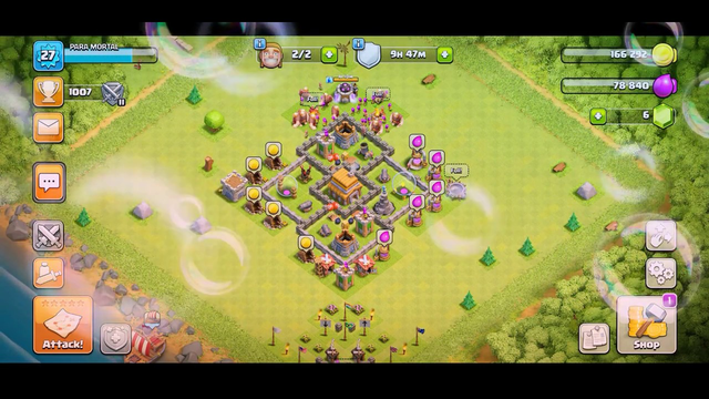 Clash of clans best th 5 base