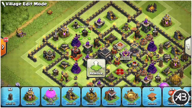 TH9 best Trophy base| clash of clans|