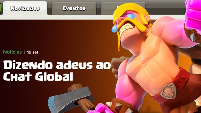 O FIM DO CHAT GLOBAL NO CLASH OF CLANS!!!