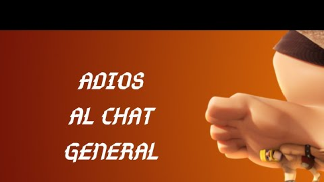 Adios Chat General Clash Of clans