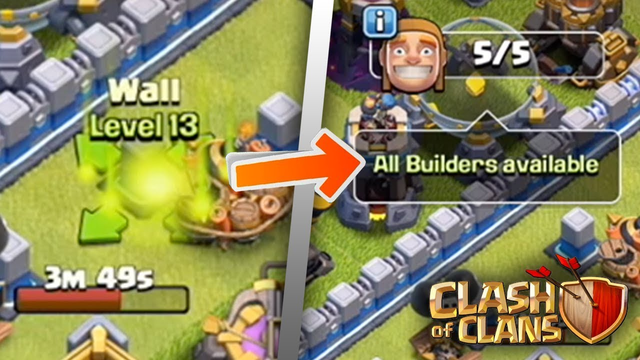 Upgrading the LAST Wall: FINALLY MAXED OUT! | Clash of Clans