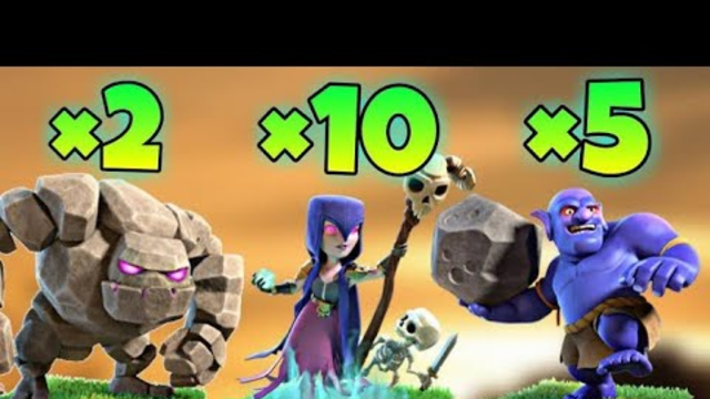 Witch Slap Guide For TH9   Clash of Clans India   by FLASH gamer