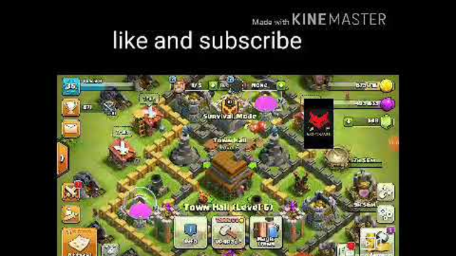 Give Away account clash of clans/BY KMENG GAMER