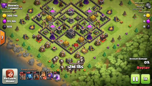 Clash of clans TH 9 BALLOON ATTACK