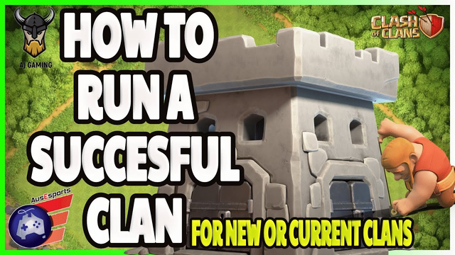 How To Build A Successful Clan I Clash of Clans I AJ Gaming