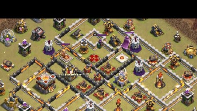 TH11 E-Dra Lavaloon War Attack Strategy Clash of Clans