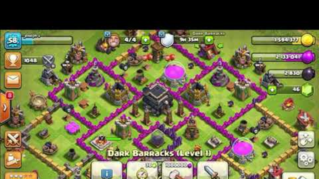 Clash of clans!!!!!!!!!!!!! Town hall 9 base