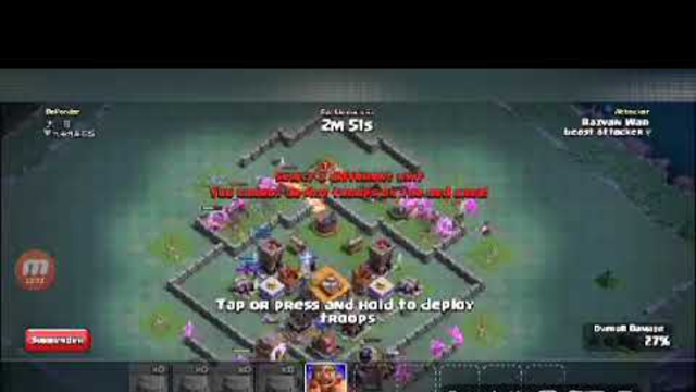 Area 51 raid storm in clash of clans base