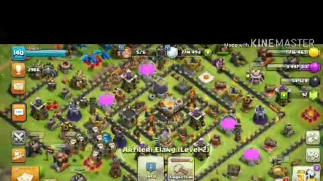 Jual akun coc th 11 - CLASH OF CLANS