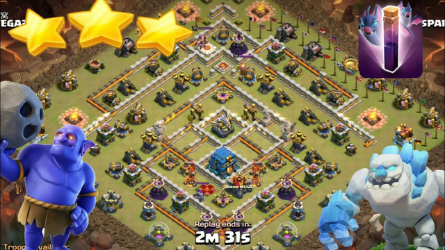 Ice golem bowitch bats easy 3 stars th12 diamond , island clash of clans after nerf last update