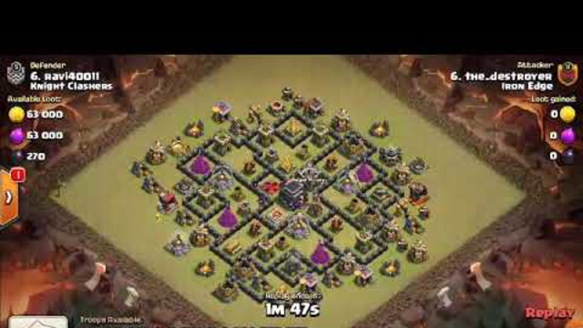 Th9 best strategy 3star compact base with dragon attack- clash of clans