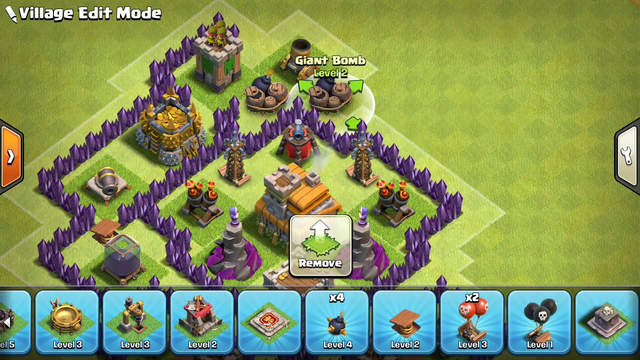 Clash of Clans Town Hall 7 TH7 Trophy War Base