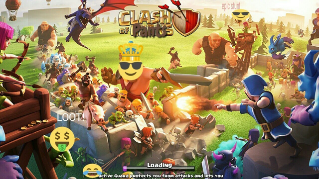 Cannons,the cannon rising (Clash Of Clans)