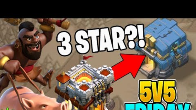 Can I Get This 11v12 3 Star?! - 5v5 Friday - Clash of Clans