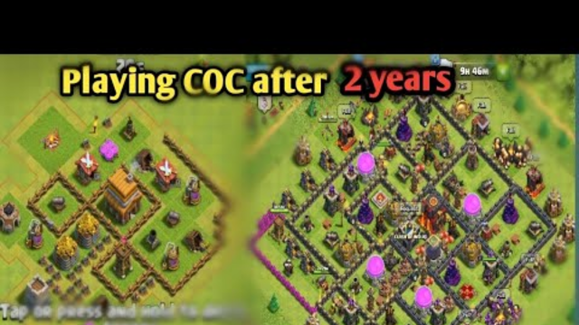 Playing Clash of Clans After 2 years | CLASH OF CLANS