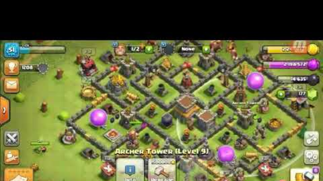 Clash of clans a shadow fight