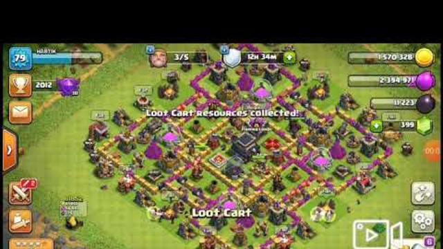 CLAN WAR ATTACK || CLASH OF CLANS
