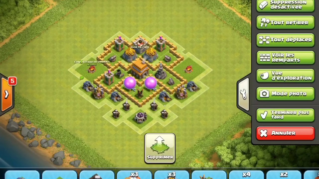 NEW BEST TH5 HYBRID/TROPHY[defense] Base 2019!! Clash Of Clans