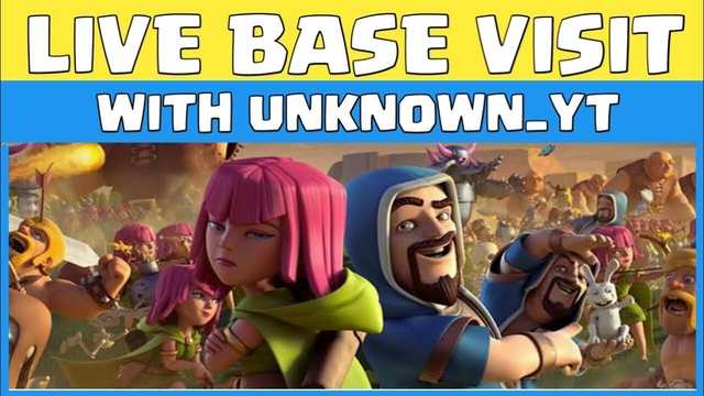 Visit Base Live Attack Clash Of clans