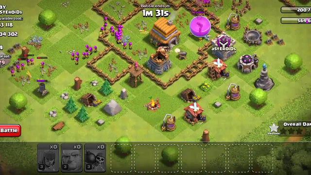 Coc gamplay on th 5